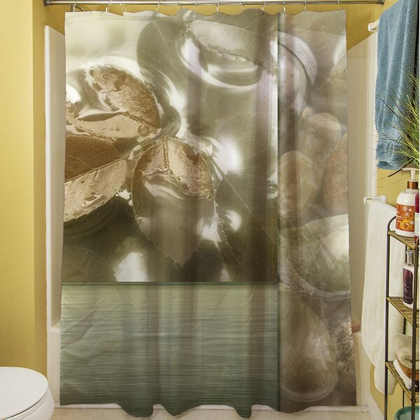 Natural Elements I Shower Curtain by Manual Woodworkers & Weavers