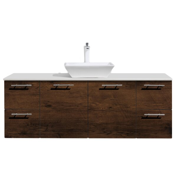 Wynne 60 Single Sink Bathroom Vanity with Top by Orren Ellis