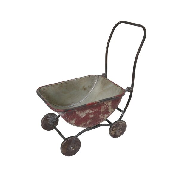 Hanke Metal Wagon Planter by August Grove