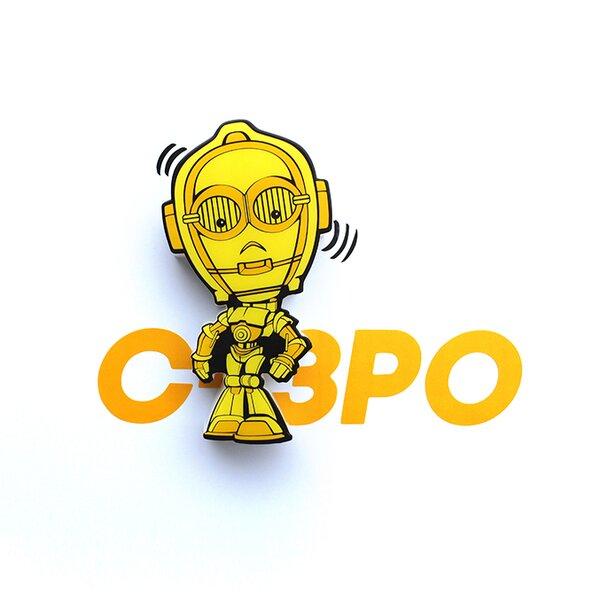 3D C-3PO Mini Deco 2-Light Night Light by 3D Light FX