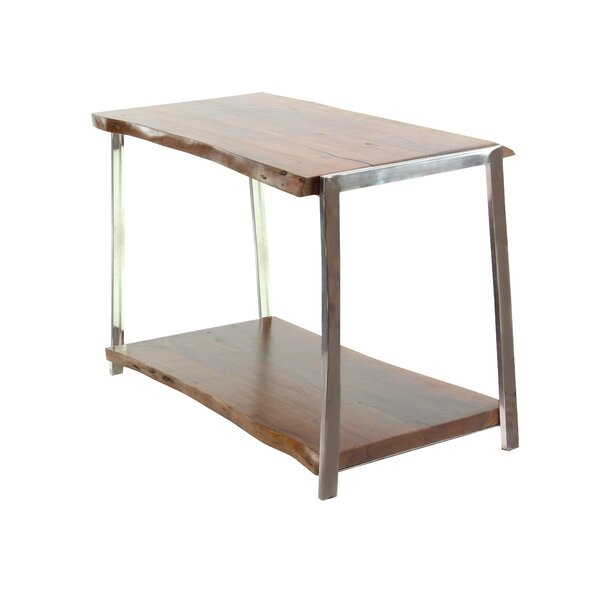 Alleyton Rustic Console Table with Bottom Shelf by Foundry Select