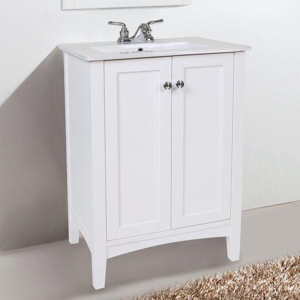 Miltonsburg 24 Single Bathroom Vanity Set by Andover Mills