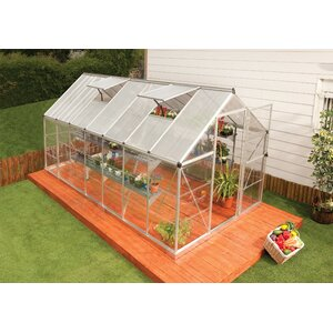 Shearson 6.1 Ft. W x 14.1 Ft. D Greenhouse