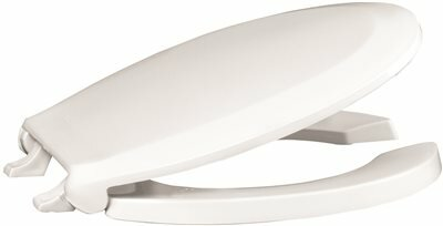 Extra Heavy Duty Plastic Round Toilet Seat by Premier Faucet