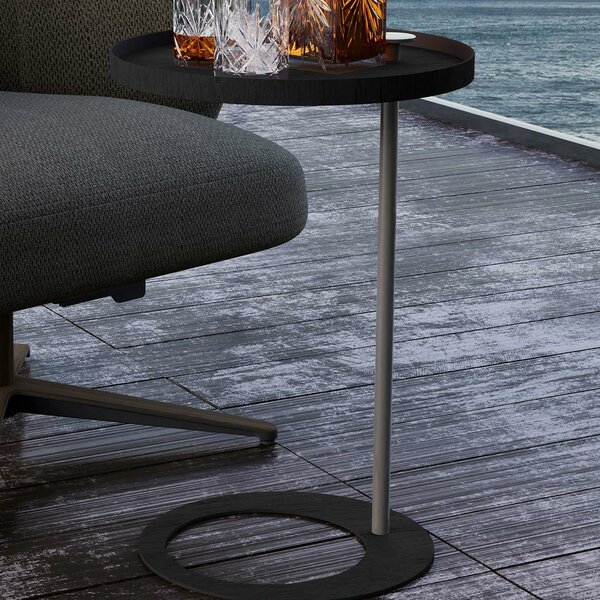 Horatio End Table by Modloft Black