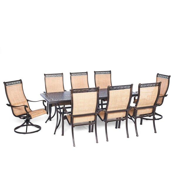 Buariki 9 Piece Dining Set by Fleur De Lis Living
