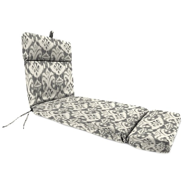 Wildes Indoor/Outdoor Chaise Lounge with Cushion by Winston Porter