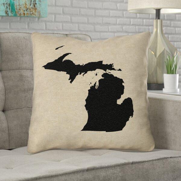 Austrinus Michigan Outdoor Throw Pillow