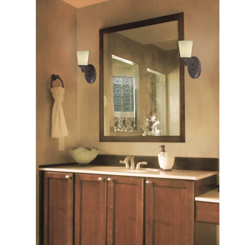 Westinghouse Lighting Malvern 1-Light Bath Sconce | Wayfair