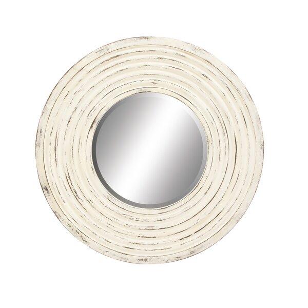 Polyurethane Round Wall Mirror by Cole & Grey