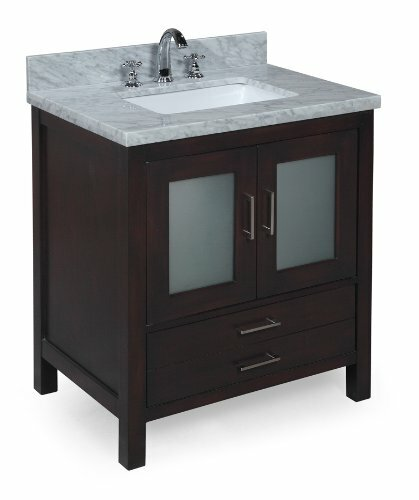 Manhattan 30 Single Bathroom Vanity Set by Kitchen Bath Collection