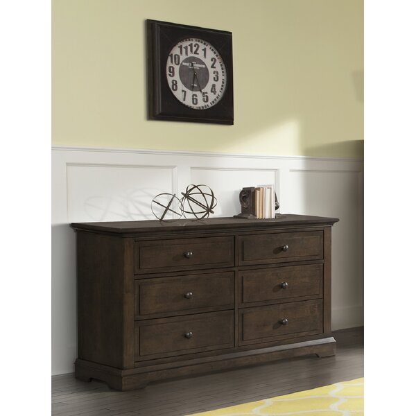 Devon 6 Drawer Double Dresser by Child Craft