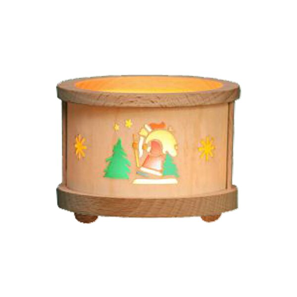 Richard Glaesser Santa Luminary Tea Light by Alexander Taron
