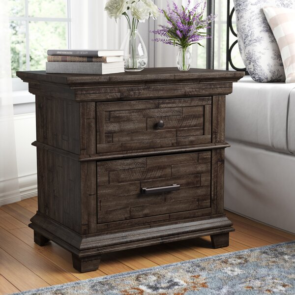 Colborne 2 Drawer Nightstand by Laurel Foundry Modern Farmhouse