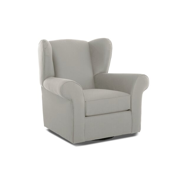 Dorsey Swivel Glider by Wayfair Custom Upholstery™