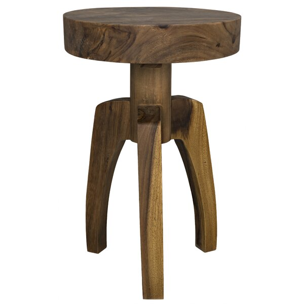 Troy End Table by Noir