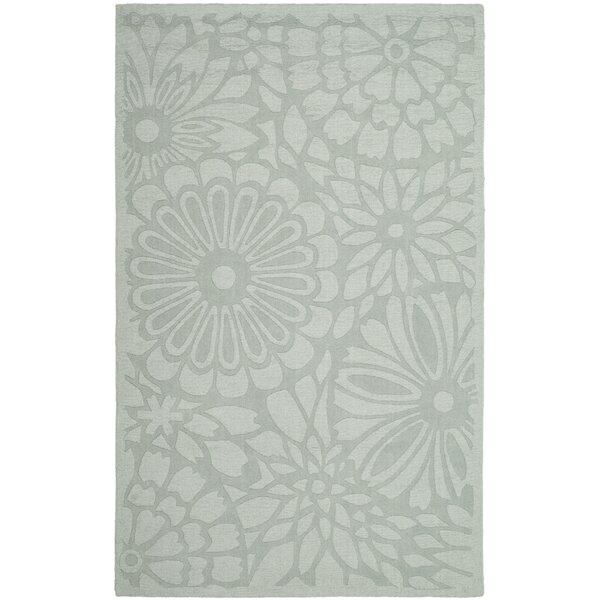 Full Bloom Hand-Loomed Driftwood Grey Area Rug by Martha Stewart Rugs