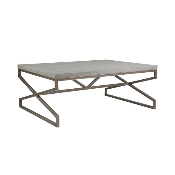 Cohesion Program Solid Wood Sled Coffee Table By Artistica Home
