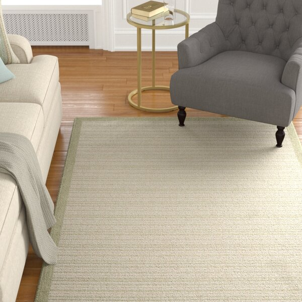 Baylis Casual Stripe Beige Indoor/Outdoor Area Rug by Alcott Hill