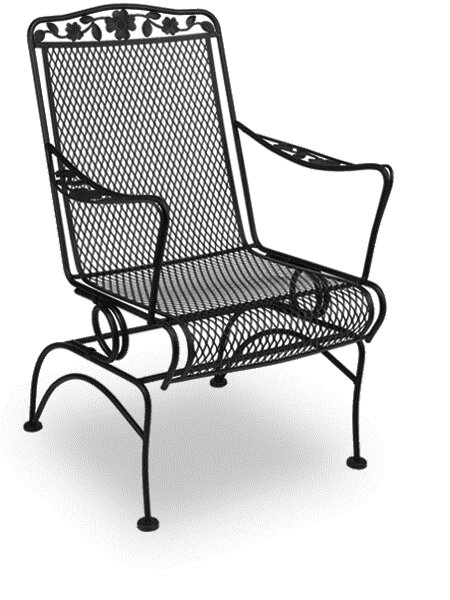 Dogwood Patio Coil Spring Dining Chair (Set Of 2) By Meadowcraft
