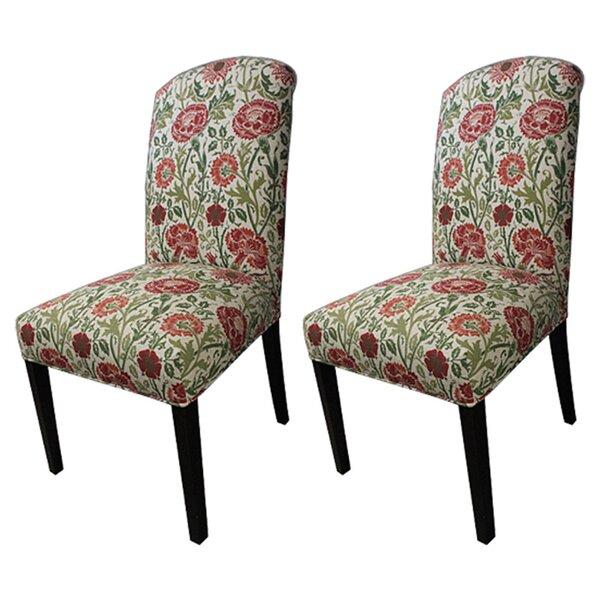 Savior Autumn Cotton Parson Chair (Set of 2) by Sole Designs