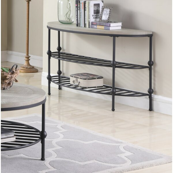 Connor Golden Console Table By Foundry Select