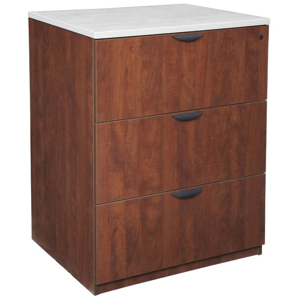 Linh Stand Up 3-Drawer Vertical Filing Cabinet by Latitude Run