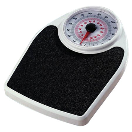 Personal Large Face Dial Floor Scale by Complete Medical