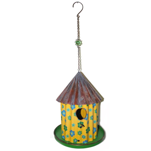 21.5 in x 8 in x 8 in Birdhouse (Set of 2) by Blossom Bucket