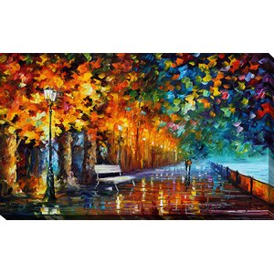 Way to Home 2 by Leonid Afremov Painting Print on Wrapped Canvas by Picture Perfect International