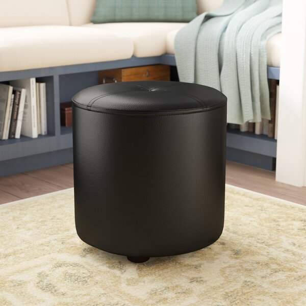 Maxine Round Accent Stool by Andover Mills