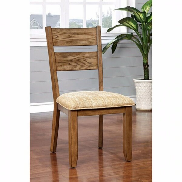 Avilla Transitional Solid Wood Dining Chair (Set of 2) by Foundry Select
