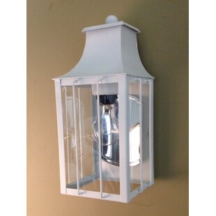 Inexpensive 800 Series 1-Light Outdoor Wall Lantern By Brass Traditions