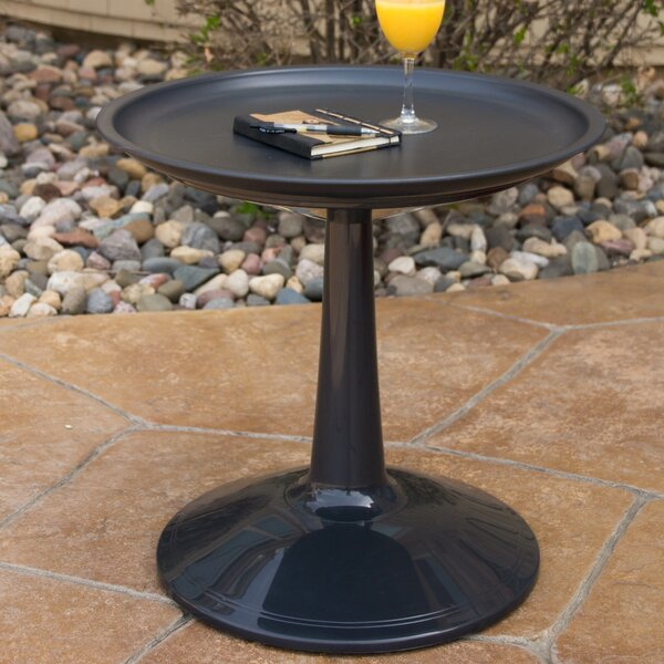 Glocester Plastic/Resin Bistro Table by George Oliver