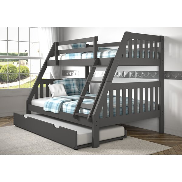 Dubbo Bunk Bed with Trundle by Harriet Bee