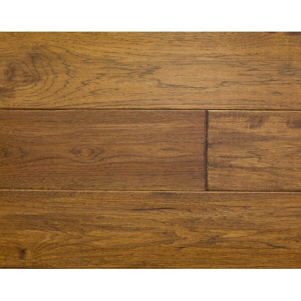 Rustic Old West 7 Engineered Hickory Hardwood Flooring in Saddle by Albero Valley