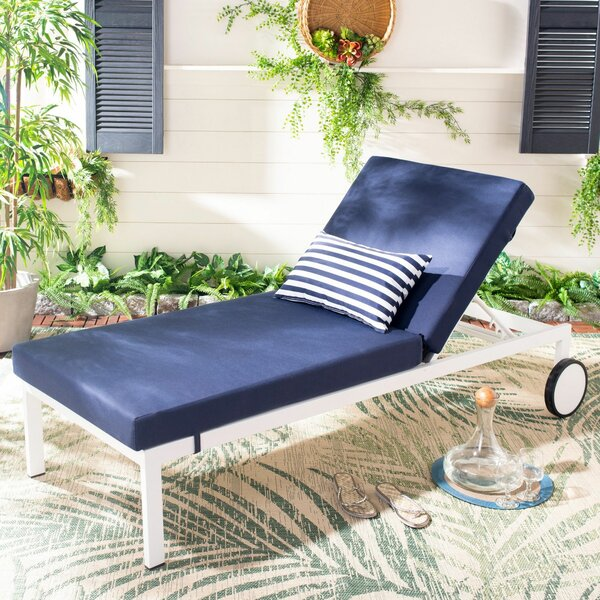 Matthews Sun Chaise Lounge By Breakwater Bay