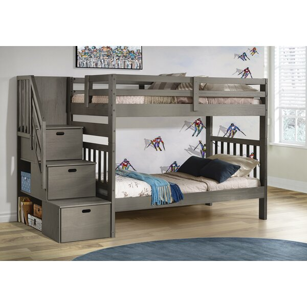 Jenafir Twin over Twin Bunk Bed by Winston Porter