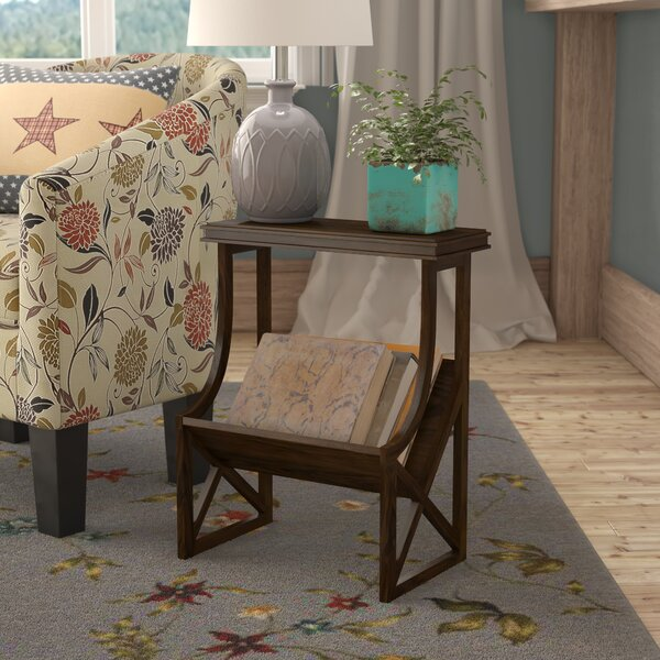 Preas End Table by Charlton Home