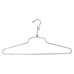 Top Reviews Imogen Blouse or Dress Metal Non-Slip Hanger (Set of 100) By Rebrilliant