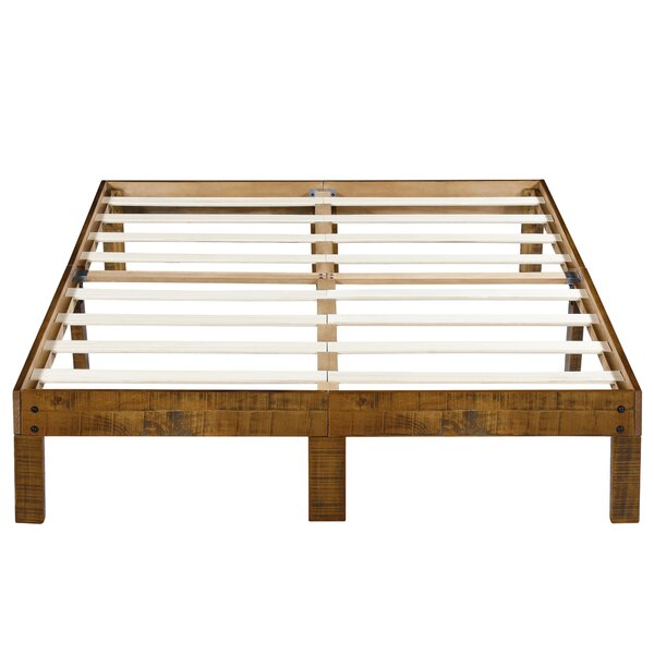 Haddon Platform Bed Frame by Millwood Pines