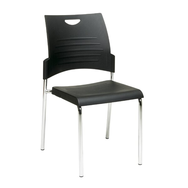 Armless Straight Leg Stacking Chair (Set of 2) by OSP Designs