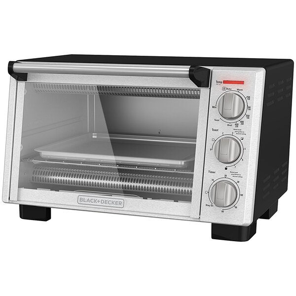 6-Slice Countertop Convection Oven by Black + Decker