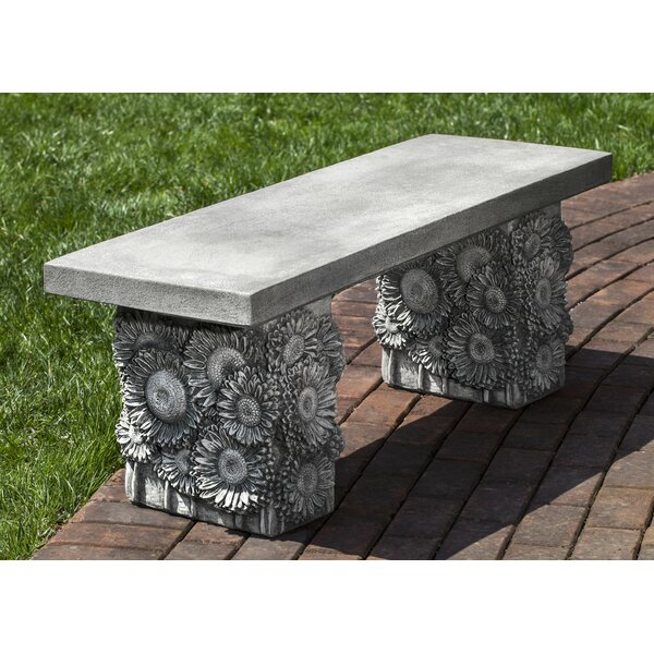 Mahar Sunflower Bench by August Grove
