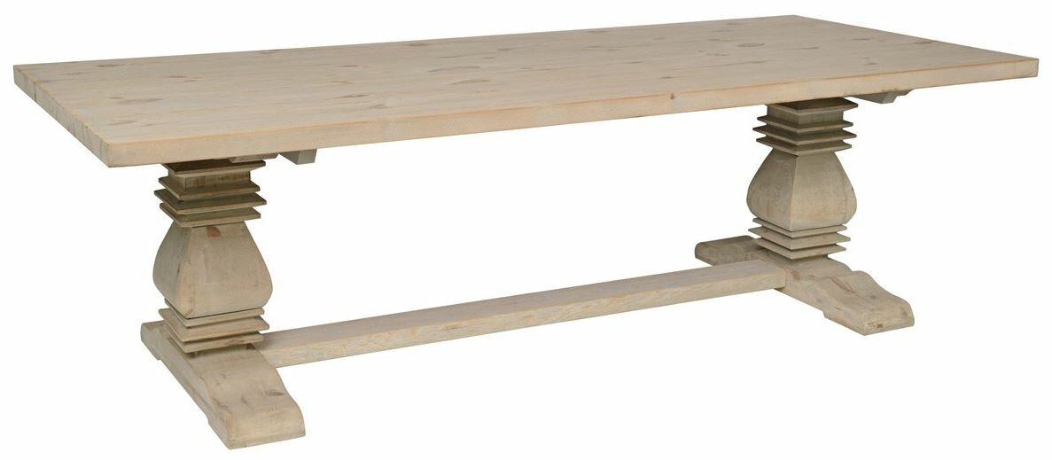 Rustic Elegant Wood Dining Table #Swedishtable #farmtable #farmhousetable
