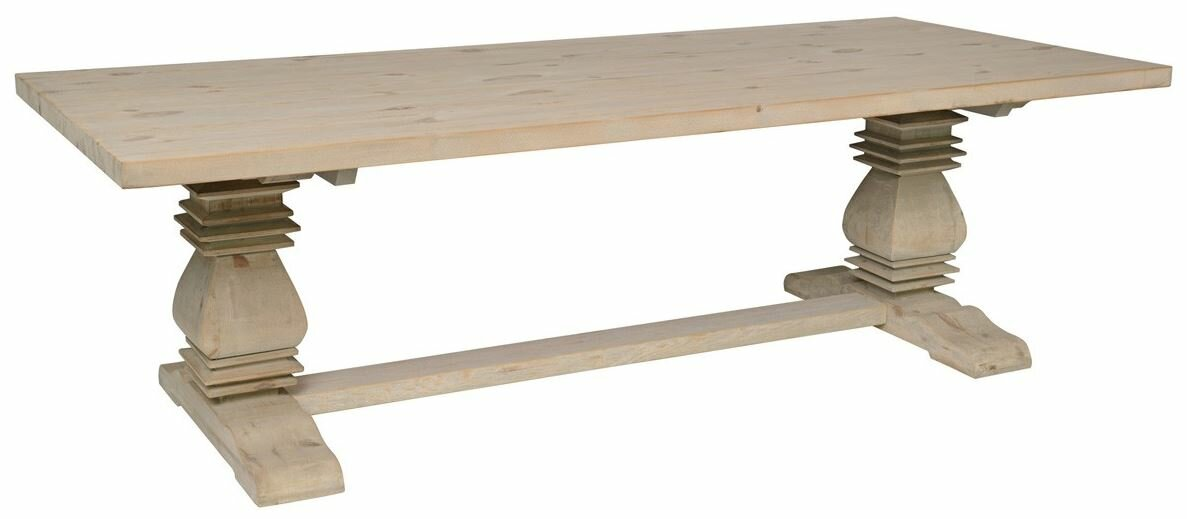 Suzette Reclaimed Pine Dining Table Amp Reviews Joss Amp Main