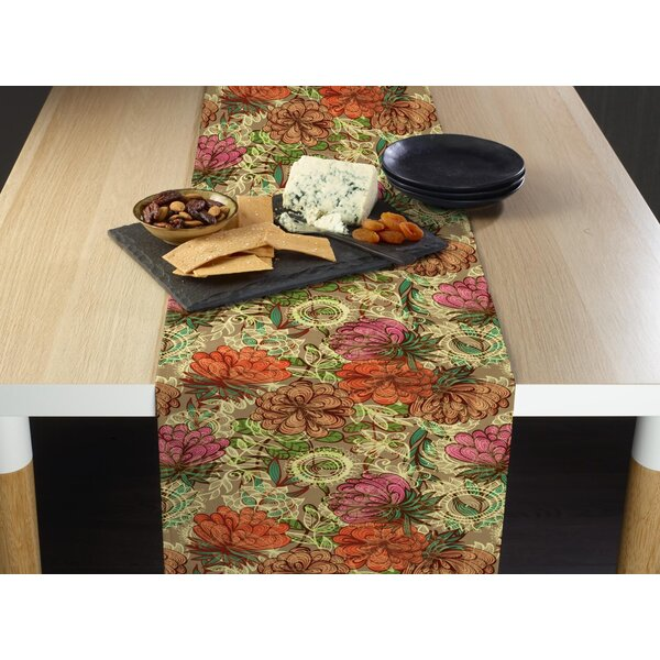 Johana Natures Flowers Table Runner by August Grove
