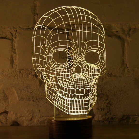 Skull 9 Table Lamp by Studio Cheha
