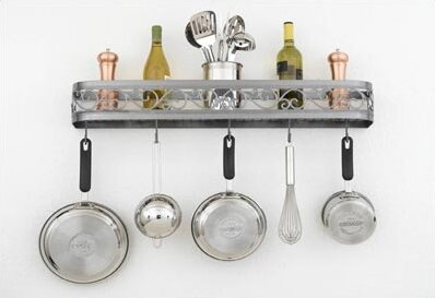 Odysee Wall Mounted Pot Rack by Hi-Lite