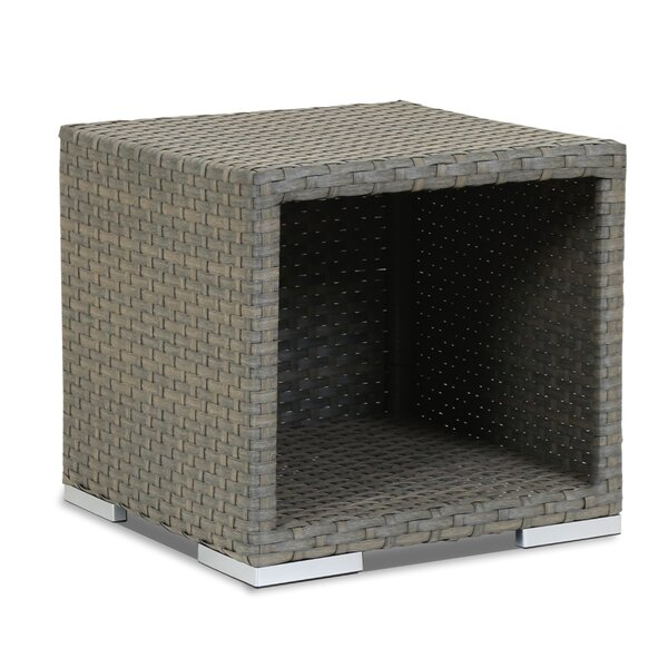 Majorca Wicker Side Table by Sunset West